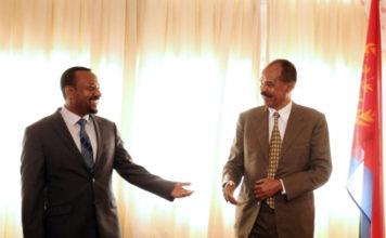 Eritrean President Meets Ethiopian Prime Minister