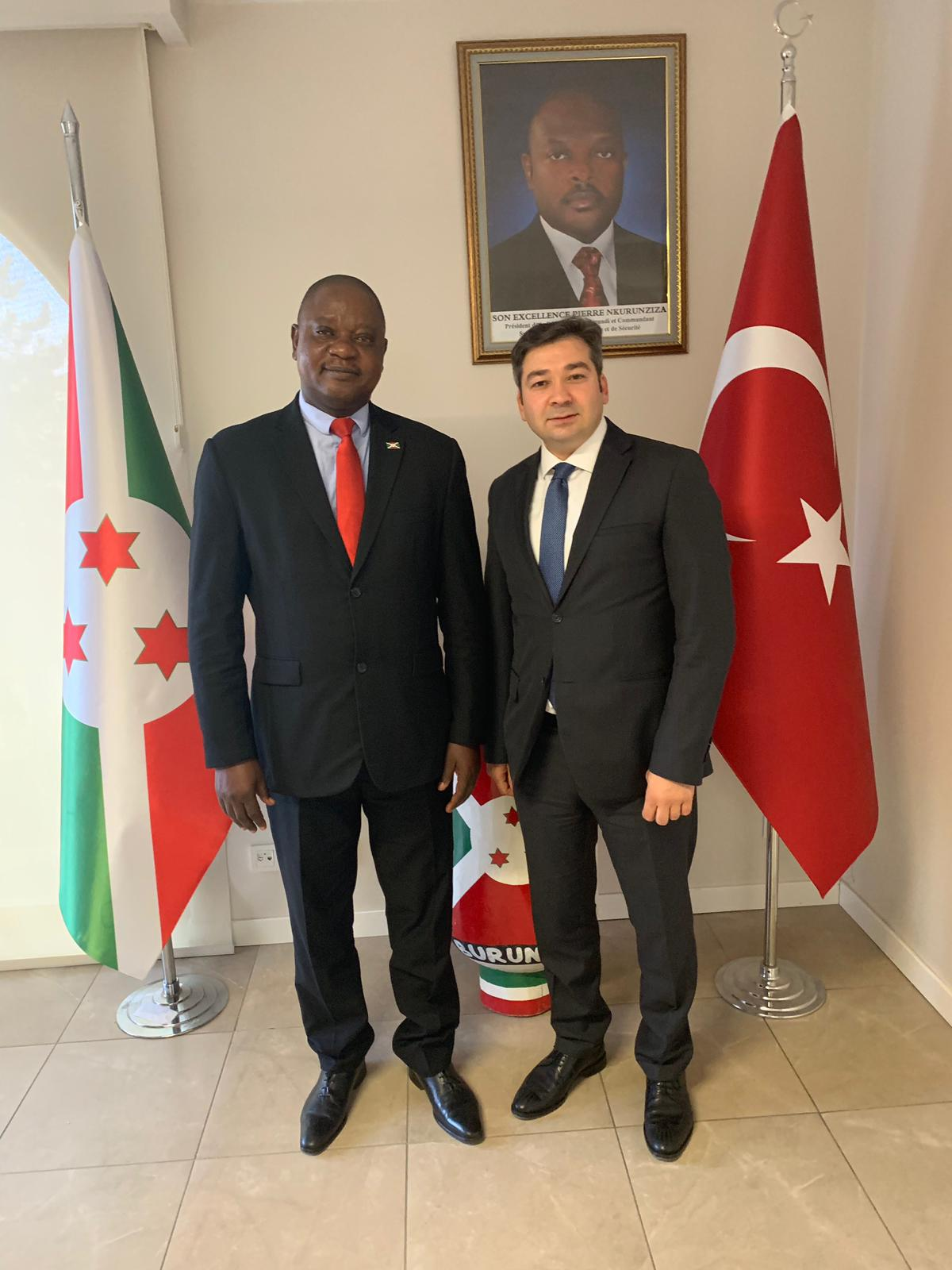 Visit to The Ambassador to Burundi