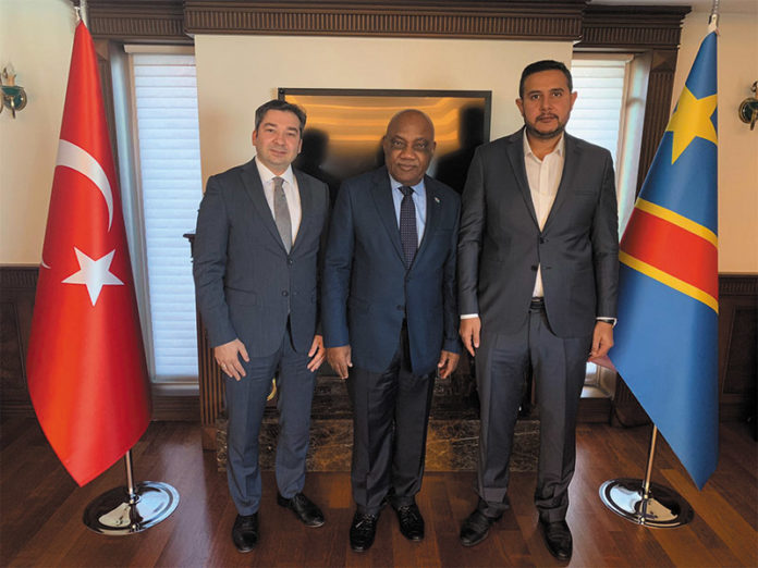 Visit to the Ambassador to Democratic Republic of the Congo
