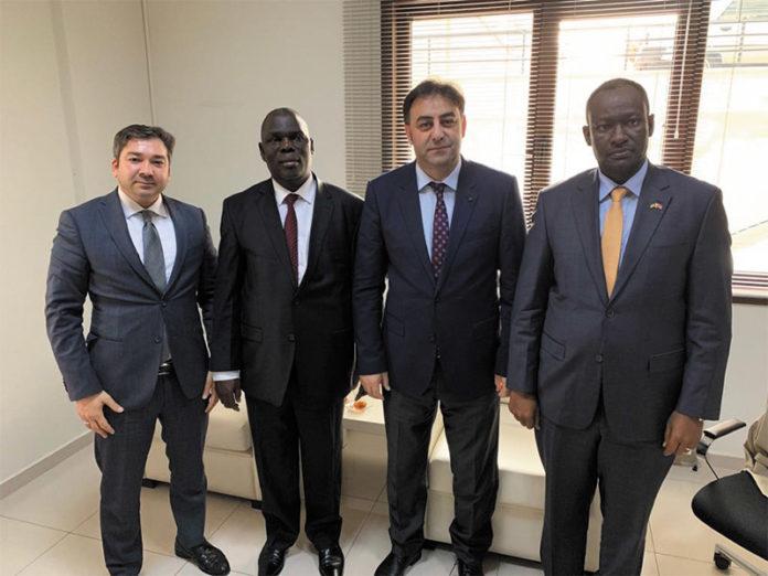 Visit to the Ambassador to Uganda